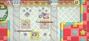 Find your way through Castle Dedede on Kirby's Epic Yarn