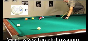 Do an inside English drill for pool playing