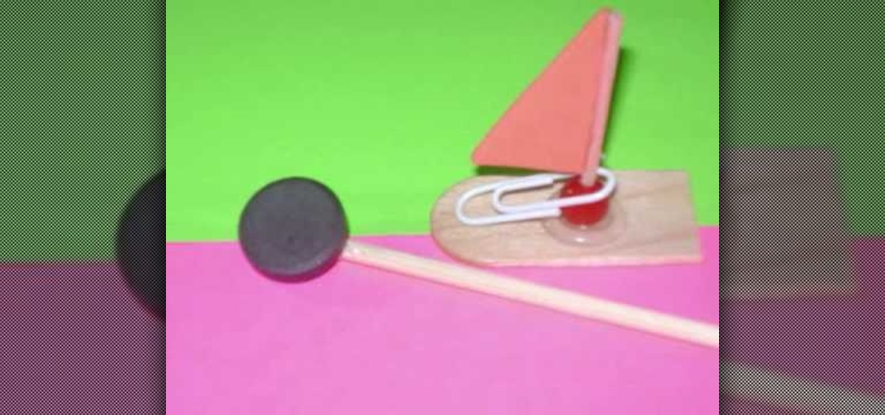 how to make simple magnetic toys at home