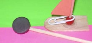 Craft a magnet boat with your kids