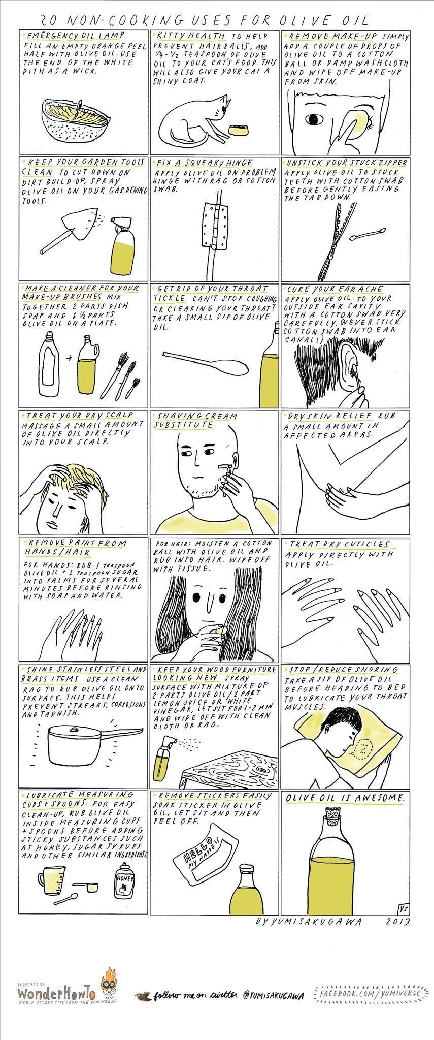 20 Non-Cooking Uses for Olive Oil