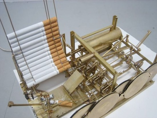 The Automatic Chain Smoking Machine