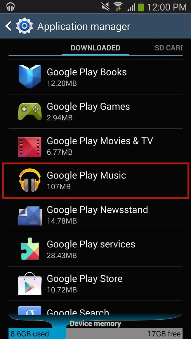 how to play songa poatify to app