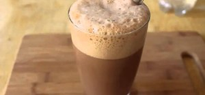 Whip up chocolate egg cream (chocolate soda)