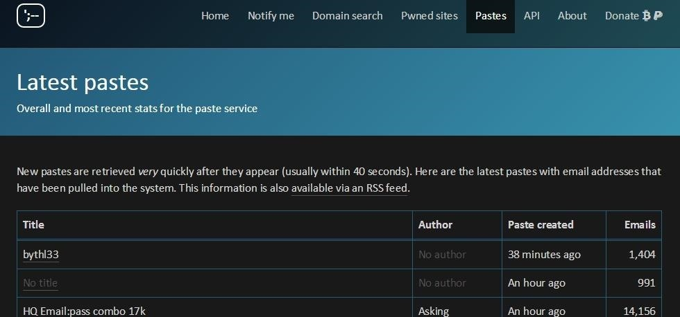 How to Find Hacked Accounts Online ~ PART 1  - haveibeenpwned « Null Byte