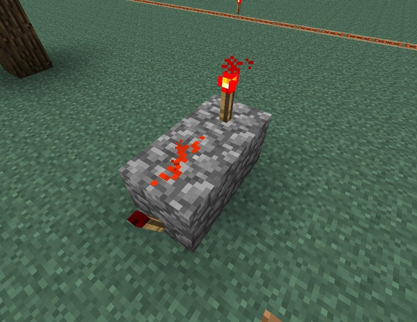 How To Send Redstone Signals Both Ways With This Two Way Repeater Three Switch In Minecraft Step 1start A Simple Diode
