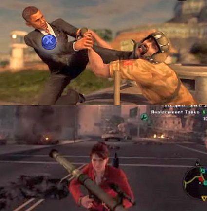 Obama in video games