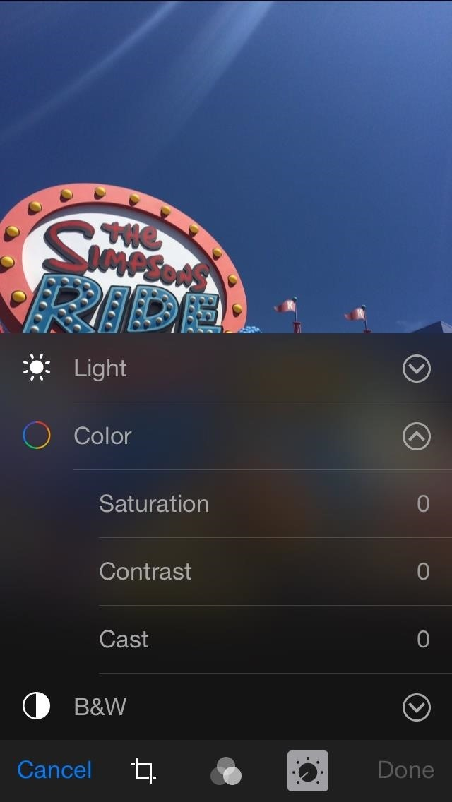 Get to Know iOS 8's New Photo Editing Tools