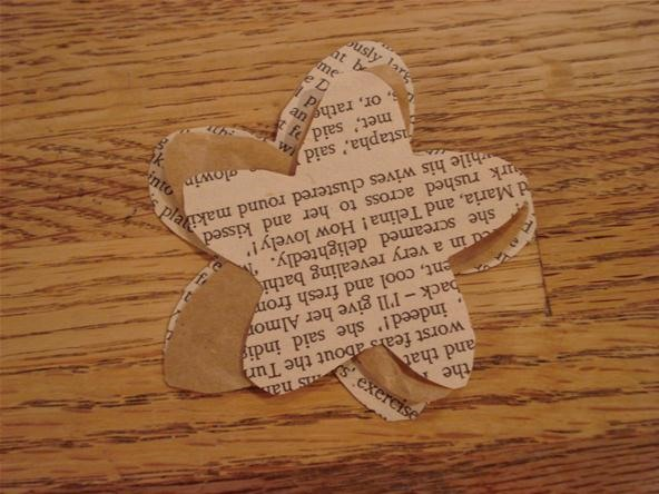 How to make paper flowers from old books papercraft wonderhowto how to make paper flowers from old books mightylinksfo