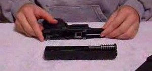 Dismantle and reassemble a Glock 26 pistol