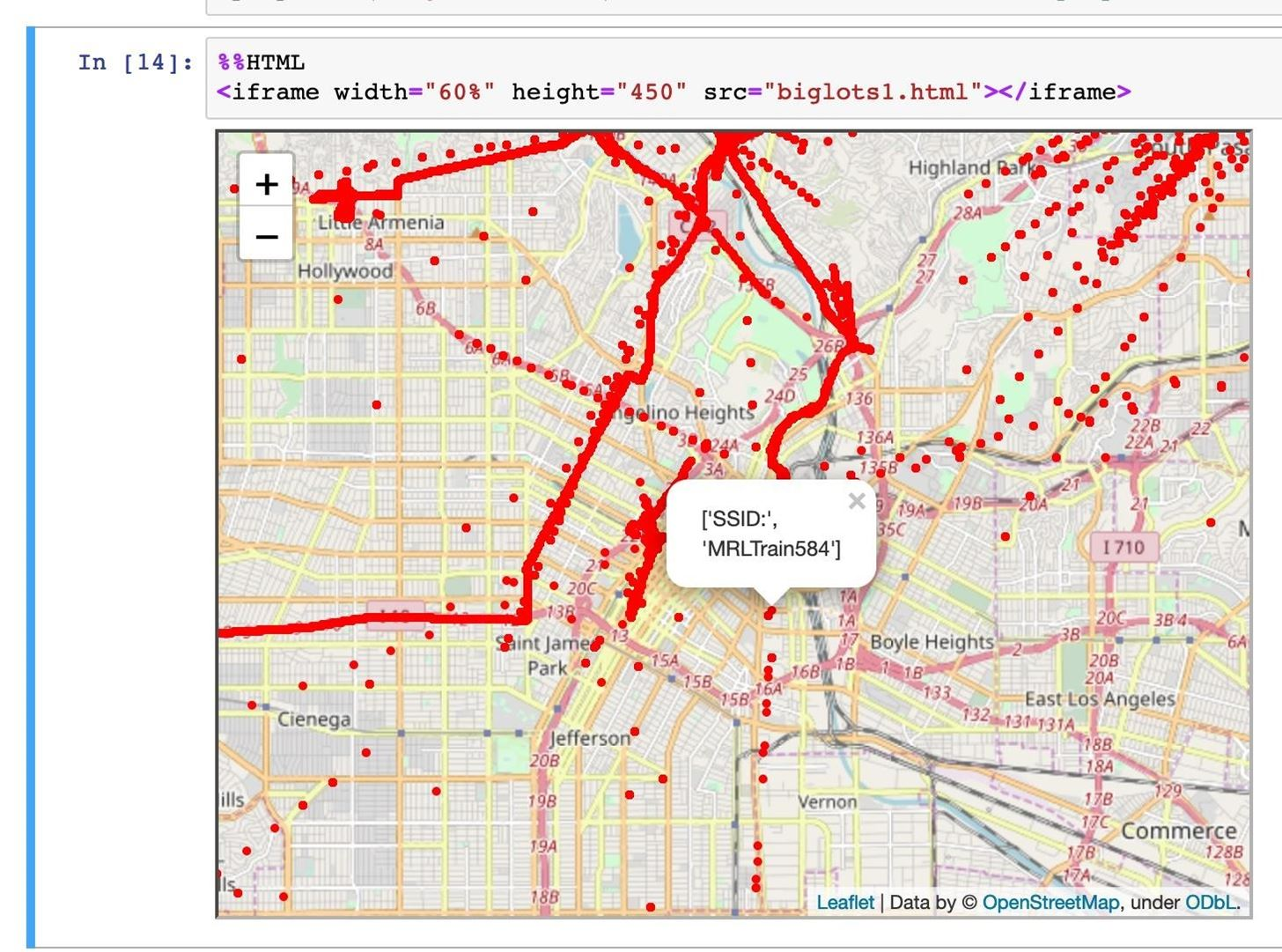 How to Map Wardriving Data with Jupyter Notebook