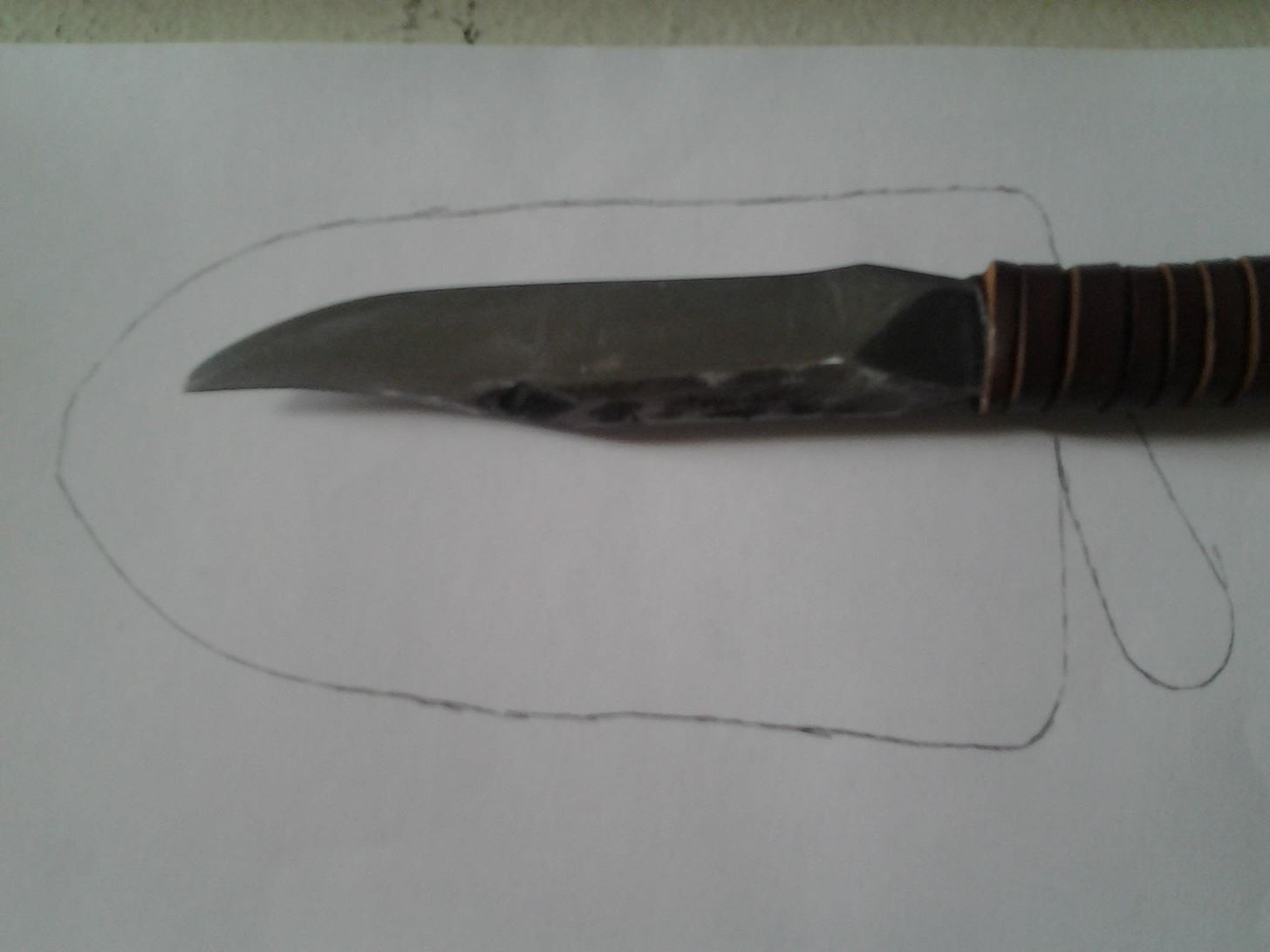 How to Make a Homemade Leather Knife Sheath
