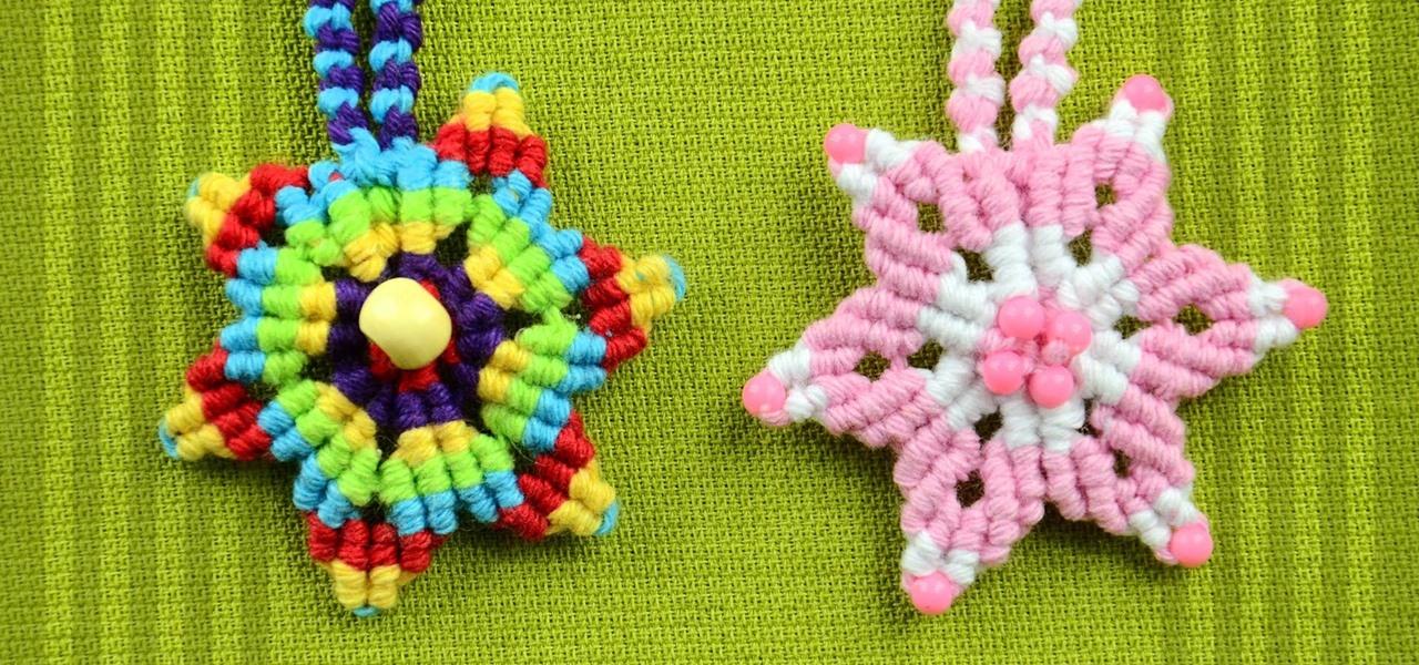 Make a Star Flower
