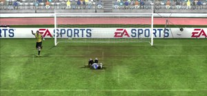 Save against penalty kicks as the keeper in FIFA 11 on the Xbox 360
