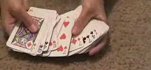 Perform the magnetic cards trick