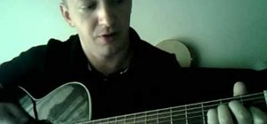 "Play Bruce Springsteen's ""Secret Garden"" on acoustic guitar"