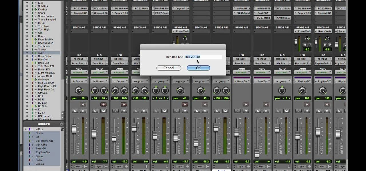 How to Mix and master in Pro Tools 8 « Pro Tools :: WonderHowTo
