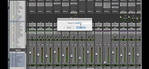 Mix and master in Pro Tools 8