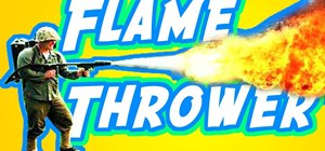 Build a flamethrower movie prop