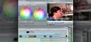 Do color correction in Final Cut Pro