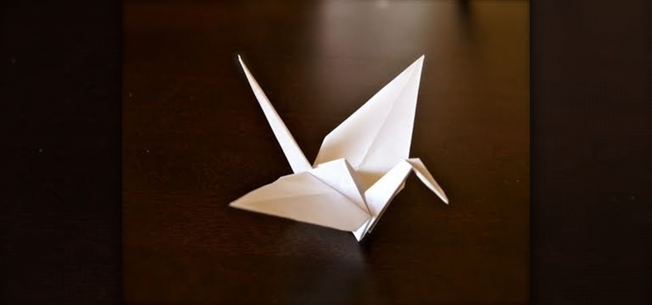 How To Fold A Paper Origami Crane 171 Origami