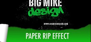 Make a paper rip effect in After Effects