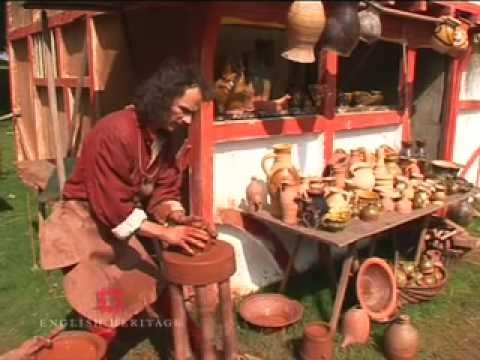 How to throw a medieval pot