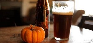 Make home-brewed pumpkin beer inside a pumpkin (aka Cask'O'Lantern)