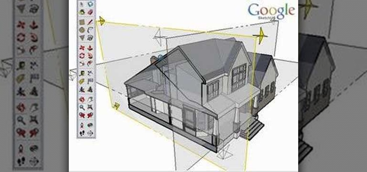 How to Use the section tool in Google SketchUp « Software Tips