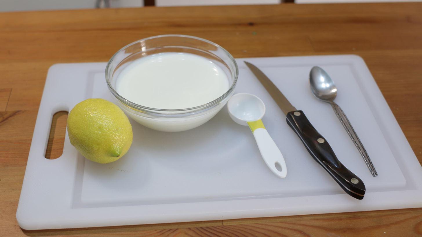 Homemade Buttermilk (Substitute)