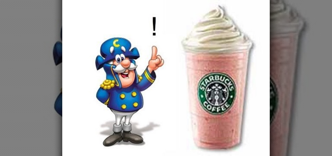 How To Order A Cap N Crunch Frappuccino At Starbucks Beverages Wonderhowto