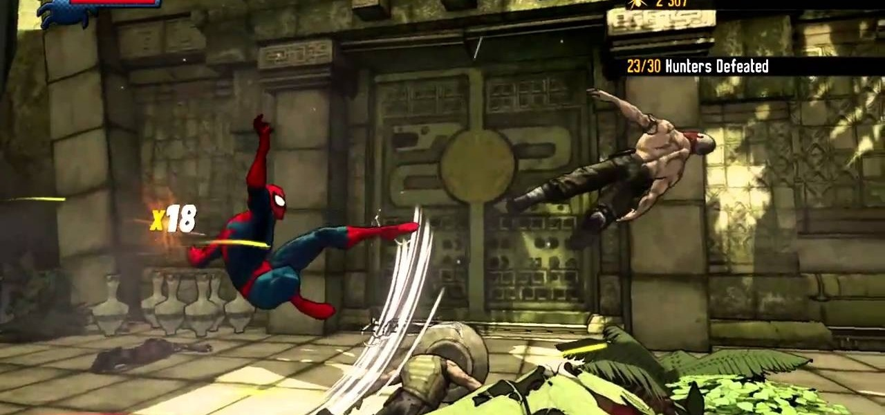 ... Gallery For > Spider Man Shattered Dimensions Hammerhead Final Fight