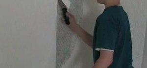 Strip wallpaper easily