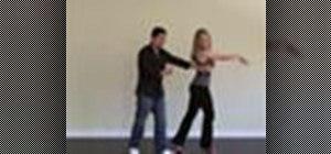 "Salsa dance ""club style"""