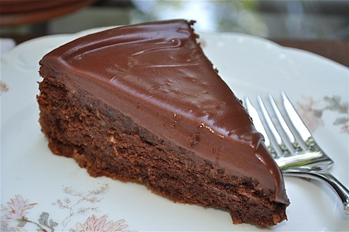 RECIPE: Little Black Dress Chocolate Cake