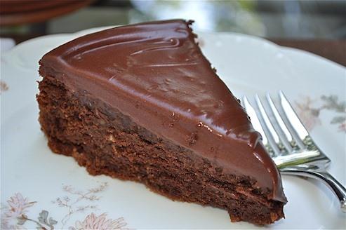 RECIPE: Little Black Dress Chocolate Cake