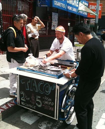 A Restaurant on Two Wheels: The DIY Taco Bike