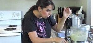 Make creamy cilantro jalapeno hummus dip