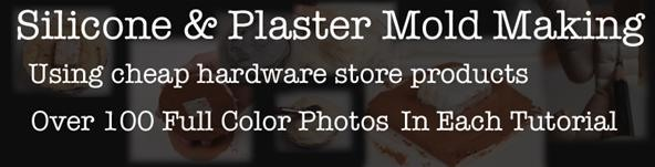 Free Silicone & Plaster Mold Making Tutorials