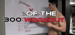 Get ripped fast with 300 Spartan body workout