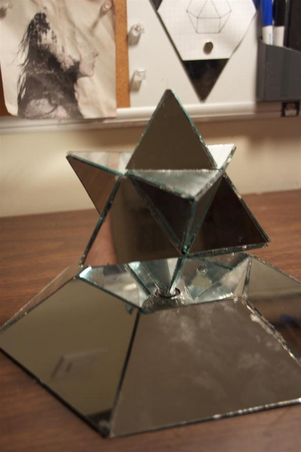 Rotating Mirror Stellated Octahedron