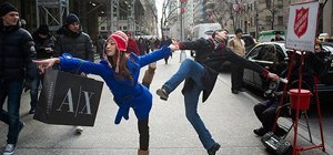Photo Series Documents Conspicuous Public Dancing