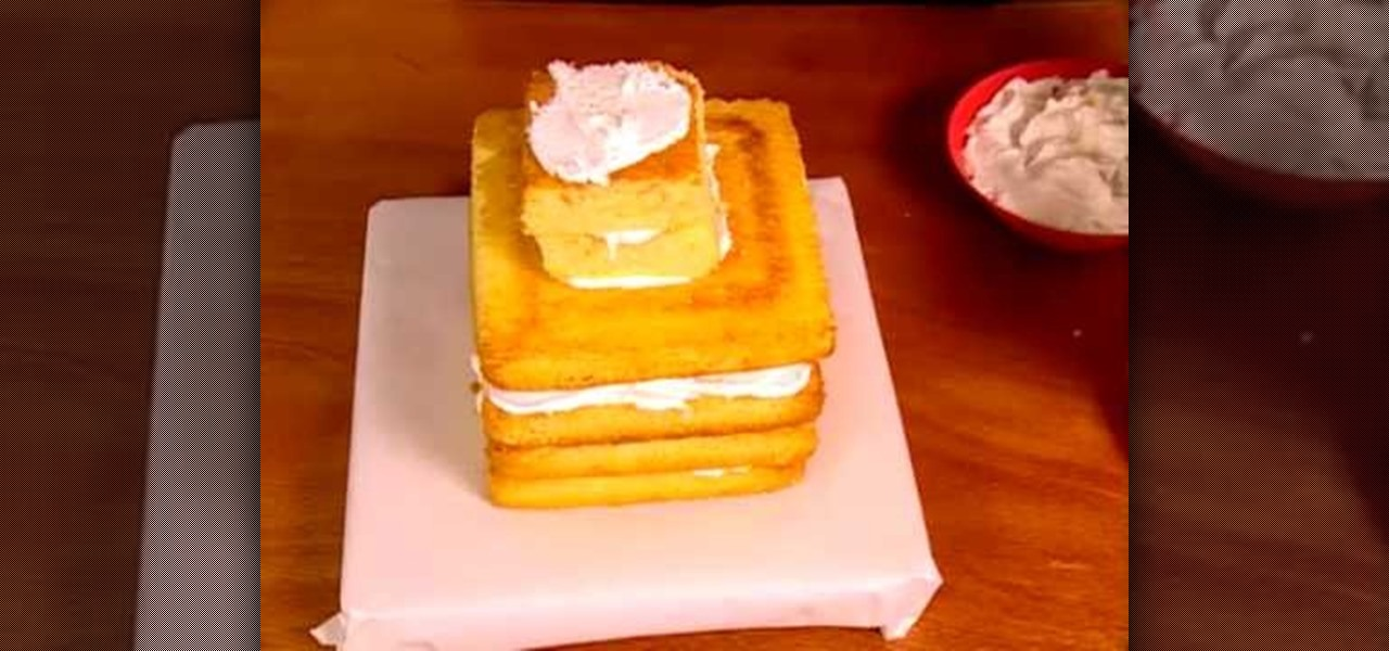 How to Make a princess castle cake Cake Decorating WonderHowTo