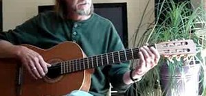 Play arpeggios on acoustic guitar basic skills