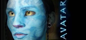 Create Avatar inspired makeup