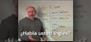 "Use the Spanish word ""hablar"""