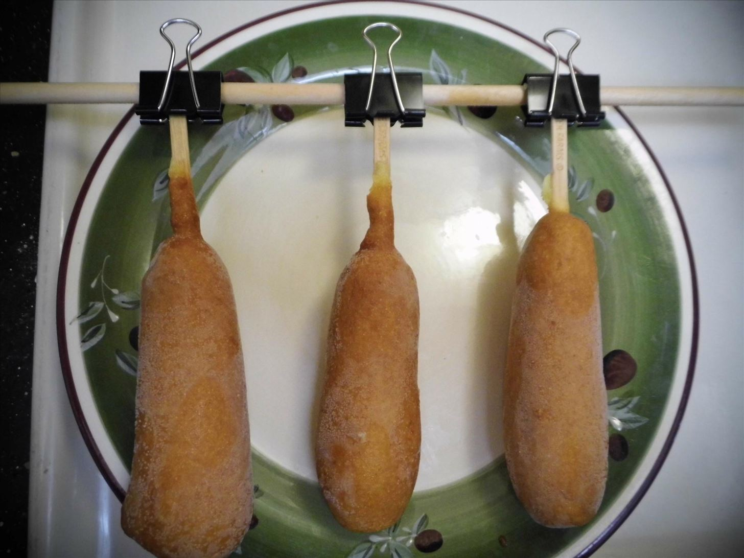 How to Build a Corn Dog Rig for Easy Deep Frying