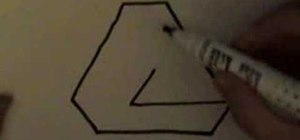 Draw the impossible triangle