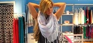 Tie a summer scarf