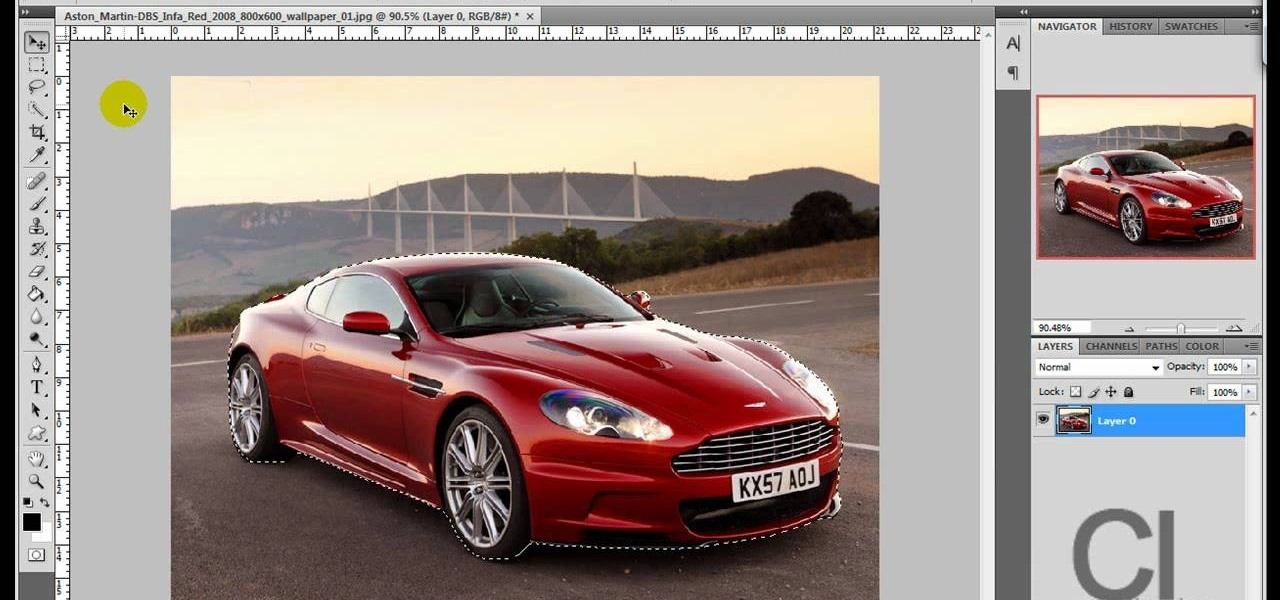 How to Change an object's color in Photoshop using magic